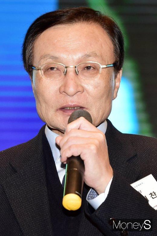 [머니S포토] 소상공인 신년회, 이해찬 대표 참석