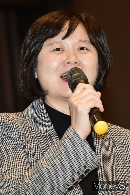 [머니S포토] 소상공인 신년회, 이정미 대표 참석