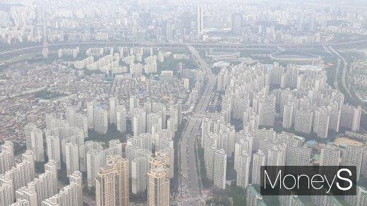 서울 송파구의 한 아파트 밀집 지역. /사진=김창성 기자