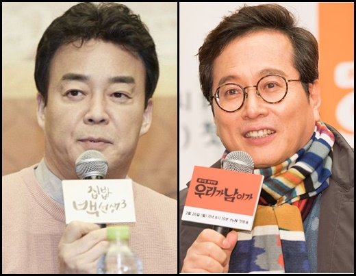 황교익 골목식당. 사진은 백종원과 황교익. /사진=tvN 제공