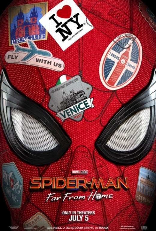 '스파이더맨: 파 프롬 홈' 공식 포스터. /사진=소니 픽쳐스