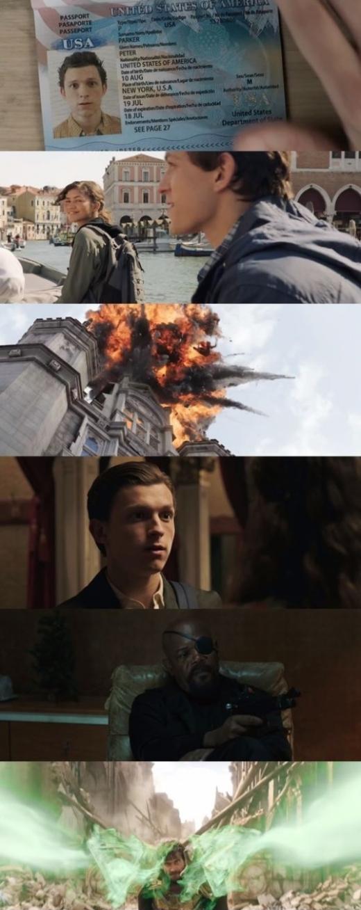 /사진='스파이더맨: 파 프롬 홈' 공식 예고편 캡처