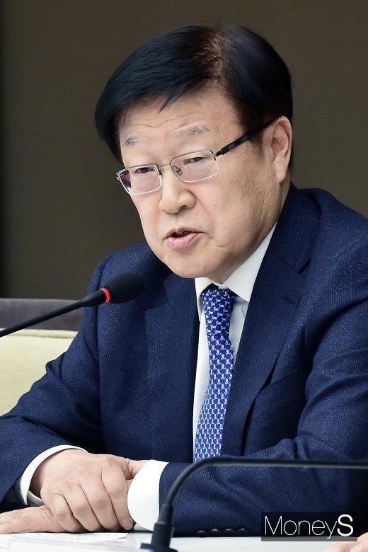 [머니S포토] 발언하는 김영주 무역협회장