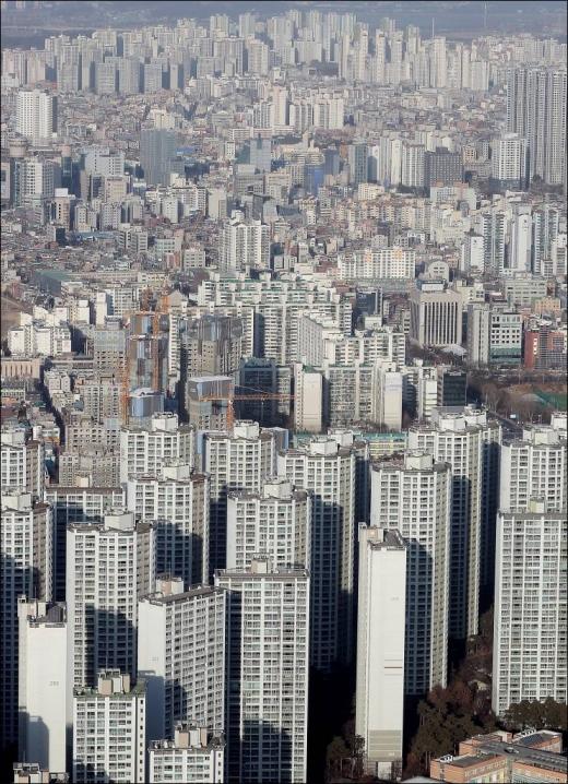 서울 아파트 전경. /사진=머니투데이 김창현 기자