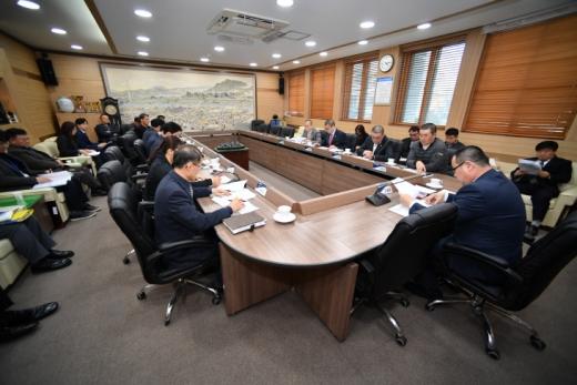 ▲ 포천시의회 의원간담회. / 사진제공=포천시의회