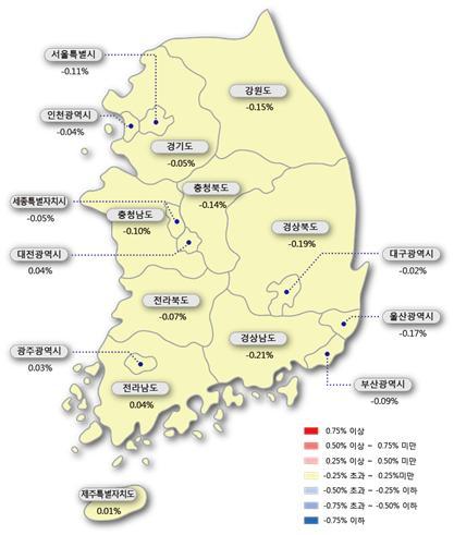 주춤했던 광주·전남 아파트 매매·전셋값 '반등'