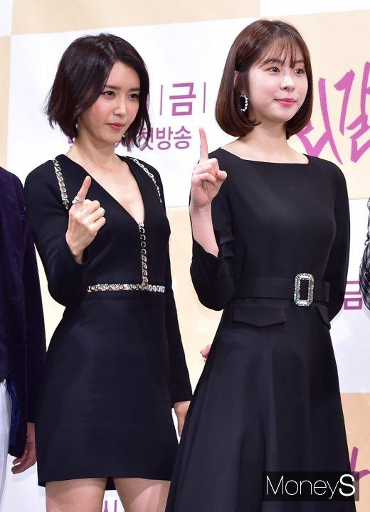 [머니S포토] 채정안-서은수, 우열 가릴 수 없는 단발 미녀
