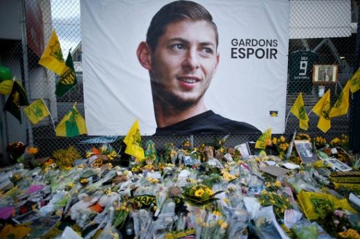 결국 사망한 것으로 최종 확인된 축구선수 에밀리아노 살라. /사진=로이터