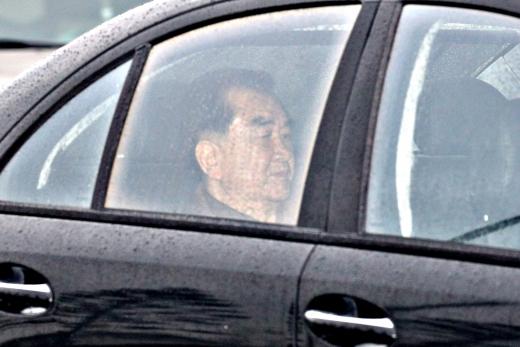 하노이 시내로 향하는 김창선 북한 국무위원회 부장. /사진=뉴스1 안은나 기자