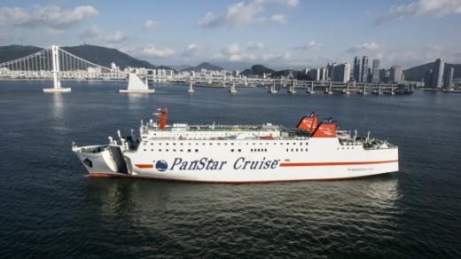 부산에서 일본 오사카로 가는 크루즈페리선인 팬스타드림호(2만1688톤)./사진제공=팬스타그룹