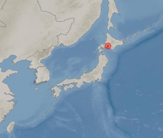 일본 지진. /사진=기상청 홈페이지 캡처