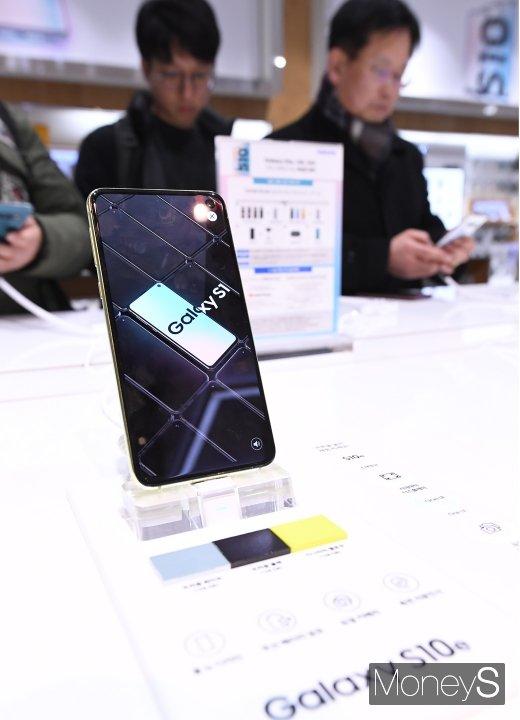 [머니S포토] '삼성 갤럭시S10을 만나다'