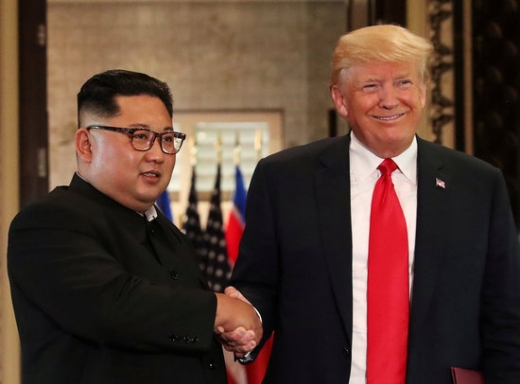 김정은 북한 국무위원장(왼쪽)과 도널드 트럼프 미국 대통령./사진=로이터