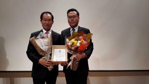 ▲ 안성시, 2019 한국문화가치 대상 '우수상' 수상. / 사진제공=안성시