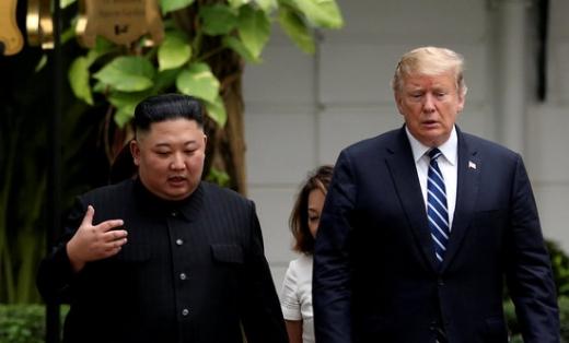 김정은 북한 국무위원장과 도널드 트럼프 미국 대통령. /사진=로이터