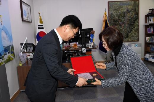 최만순 성남경기도민회장, 1대 성남시 일일 명예시장 위촉