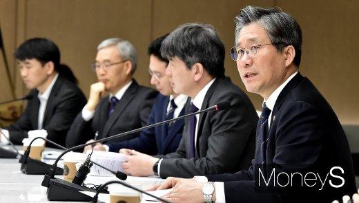 """[머니S포토] 성윤모 """"재생에너지 산업, 전세계적으로 양적 확대 추세"""""""