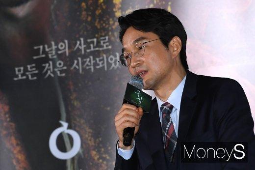 """[머니S포토] 한석규 """"많은 생각을 하게 만드는 영화"""""""