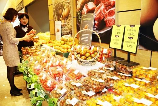 광주신세계, 다양한 색·맛 가득 '토마토 산지 모음전'