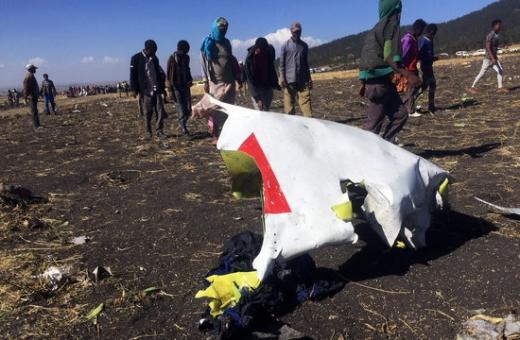 에티오피아 여객기 추락. 보잉 737 맥스. 10일(현지시간) 오전 승객과 승무원 157명을 태우고 에티오피아를 떠나 케냐 나이로비로 향하던 에티오피아항공 소속 여객기가 추락했다. /사진=로이터