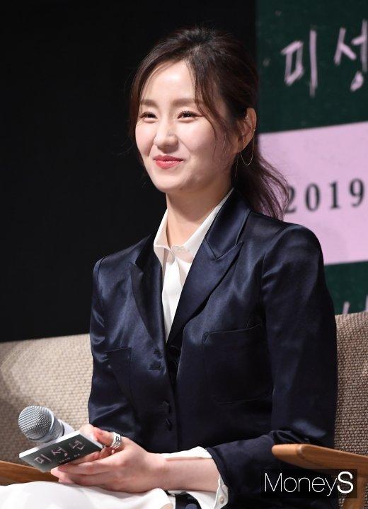 [머니S포토] 김소진 '단아한 미소'