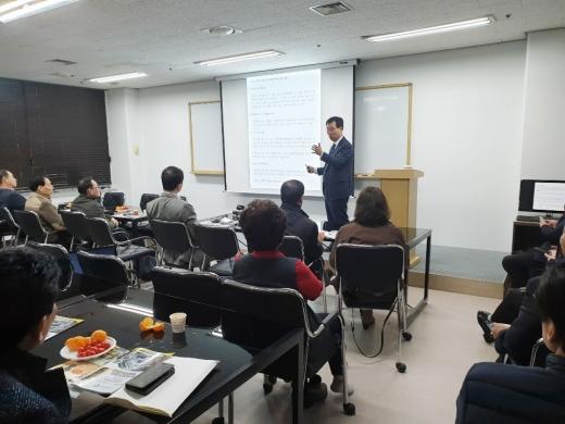 지난 14일 서울 구로구 에이스트윈타워 스파크인터내셔널 본사에서 '연료절감블랙박스 및 파워세이버 사업설명회'가 개최됐다. /사진제공=스파크인터내셔널