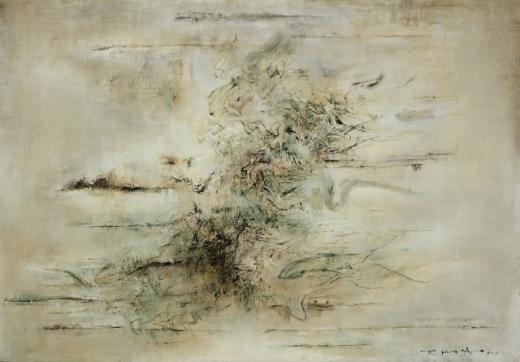 자오우키의 'Untitled'(1958). /사진=홍콩관광청