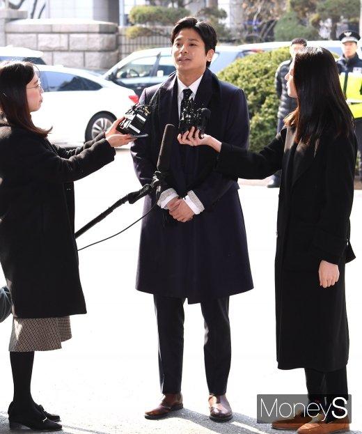 """[머니S포토] '버닝썬 폭행' 신고자 김상교 """"진실규명 바란다"""""""