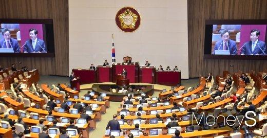 [머니S포토] 막오른 정치분야 국회 대정부 질문
