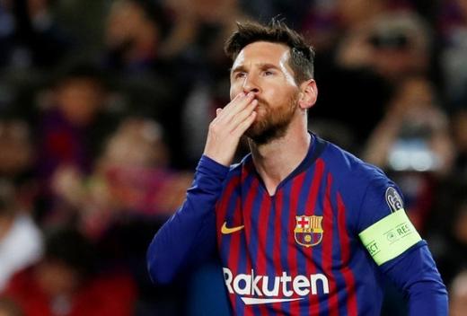이번 시즌에도 엄청난 활약을 이어가고 있는 FC 바르셀로나의 공격수 리오넬 메시. /사진=로이터
