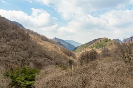 죽령옛길에서 볼 수 있는 소백산맥 절경. /사진=한국관광공사