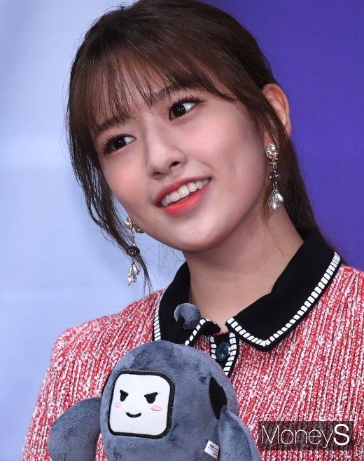 [머니S포토] 아이즈원 안유진 '클로즈업해도 무결점'