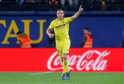 이번 시즌 비야레알에서 부활을 선언한 산티 카솔라. 레알 마드리드와 FC 바르셀로나를 상대로도 엄청난 활약을 선보였다. /사진=로이터