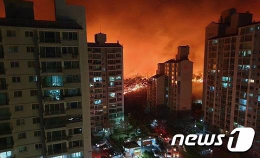 정부, 강원도 산불 '국가재난사태' 선포 (속보)