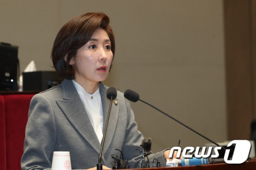 나경원 자유한국당 원내대표. /사진=뉴스1