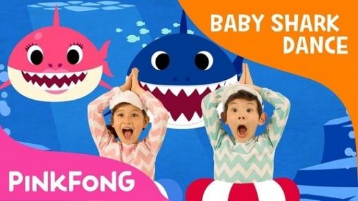 상어가족. 조니 온리. Baby Shark. 한국리웨이뮤직. 핑크퐁 상어가족 송. /사진=유튜브 채널 핑크퐁 캡처화면