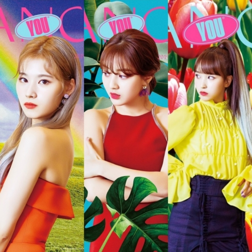 (왼쪽부터) 트와이스 사나 지효 미나. /사진제공=JYP 엔터테인먼트