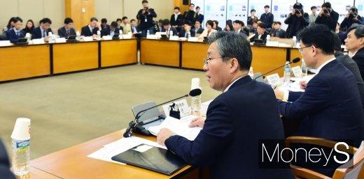 """[머니S포토] 성윤모 장관, """"수출 플러스 전환의 모멘텀 마련할 때"""""""