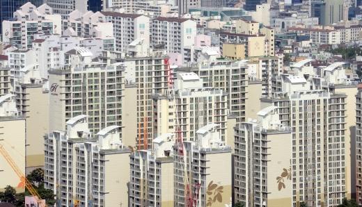 서울 강남구의 한 아파트 밀집 지역. /사진=뉴시스 DB