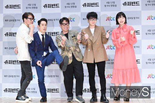 [머니S포토] 윤상·조한·윤종신·김종완·이수현, 슈퍼밴드 심사위원들