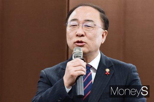 홍남기 부총리 겸 기획재정부 장관/사진=임한별 기자