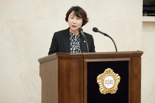 ▲ 용인시의회 유진선 의원. / 사진제공=용인시의회