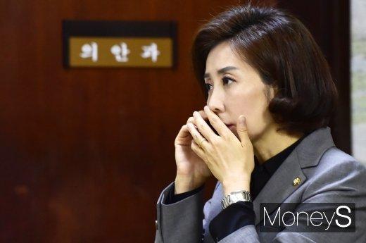 청와대 국민청원. 사진은 나경원 자유한국당 원내대표. /사진=임한별 기자