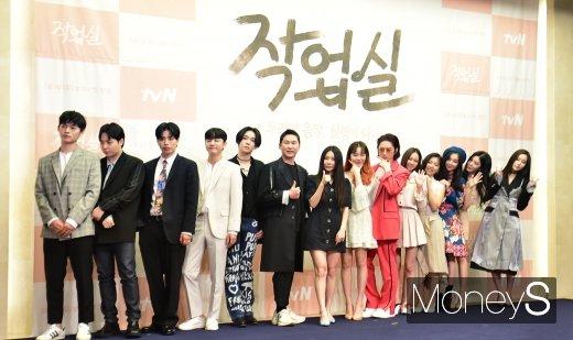 [머니S포토] 청춘남녀 뮤지션들의 리얼리티 프로그램 '작업실' 1일 첫방송