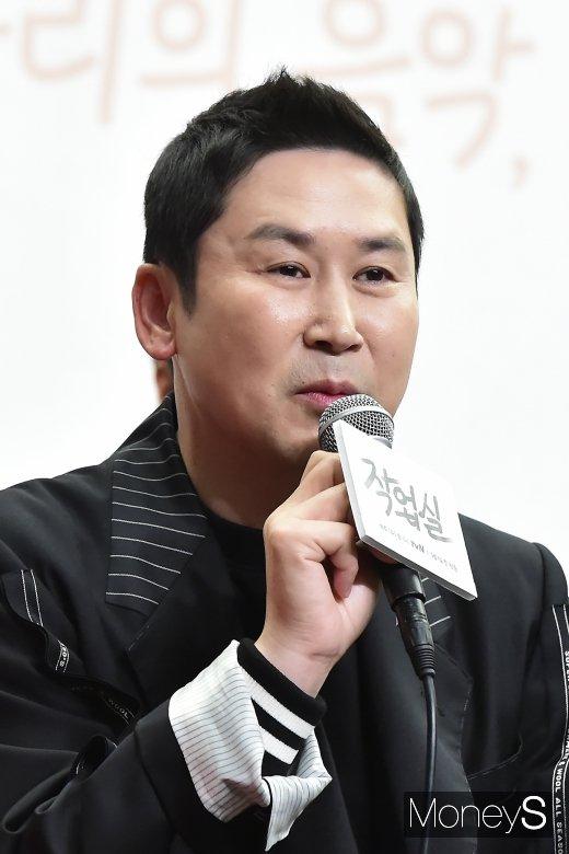 """[머니S포토] MC 신동엽, """"작업실에는 음악도 사랑도 녹아 있어"""""""
