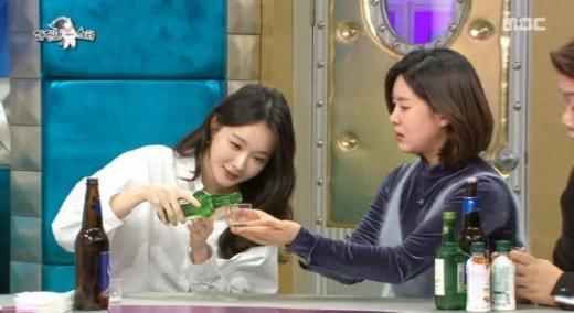강민경 법정제재. /사진=MBC 예능프로그램 라디오스타 방송 화면 캡처