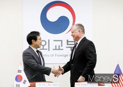[머니S포토] 한미 비핵화 남북관계 한미 워킹그룹 회의 개회