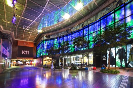 복합쇼핑몰 K11의 피아자. /사진=홍콩관광청