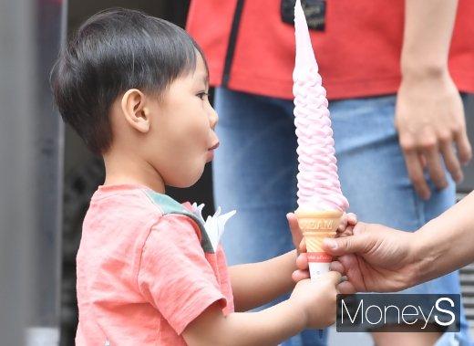 [머니S포토] '우와~ 아이스크림'