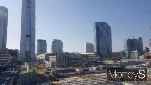 현대차 GBC 건립 부지. /사진=김창성 기자